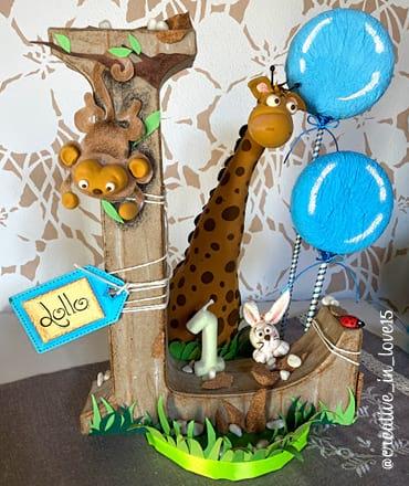 Cake topper animali