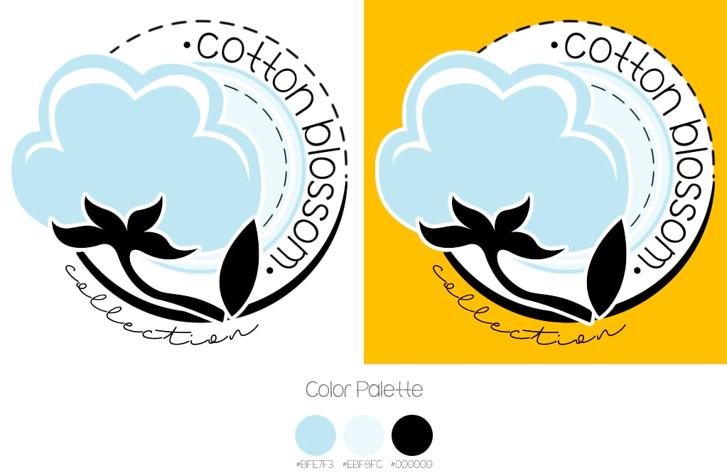 logo cotton blossom collection